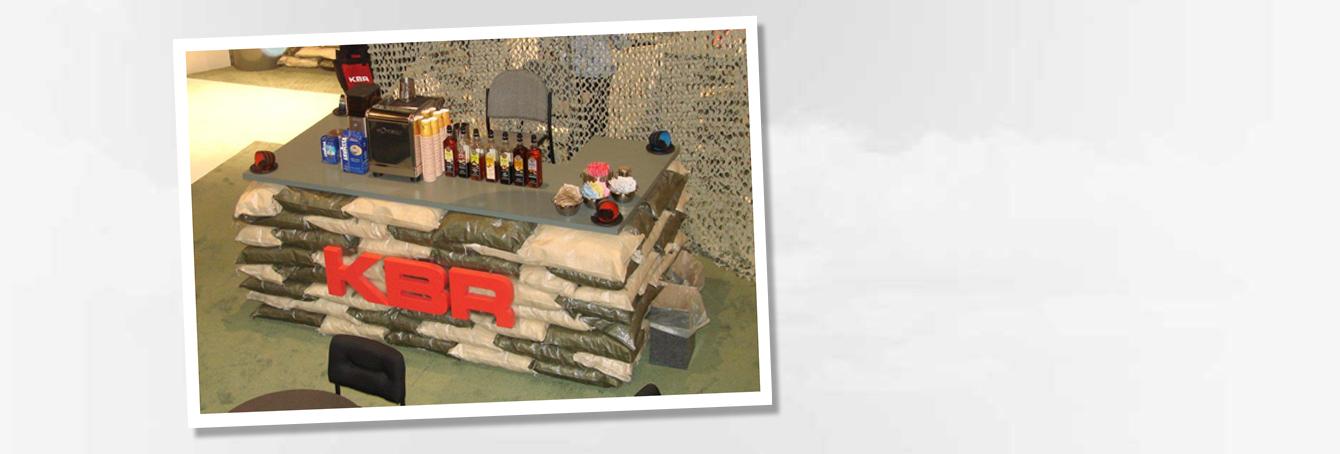 Custom-Trade-Show-Booth-KBR-AUSA-Army-Show-Washington-Convention-Center